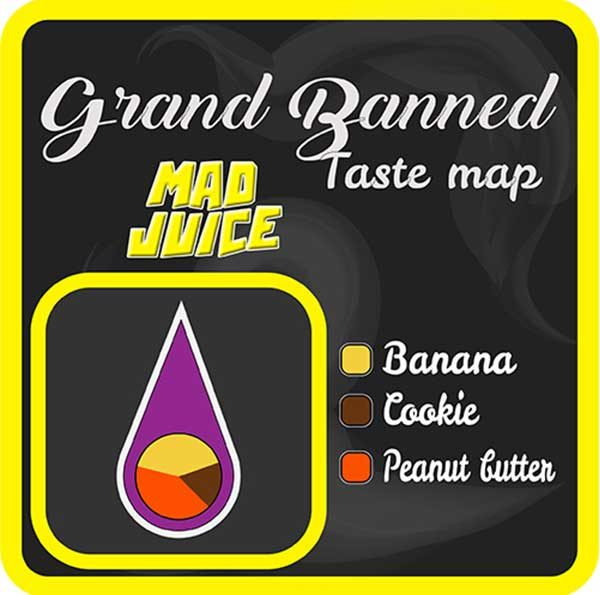 Mad Juice – Grand Banned (3x10ml)
