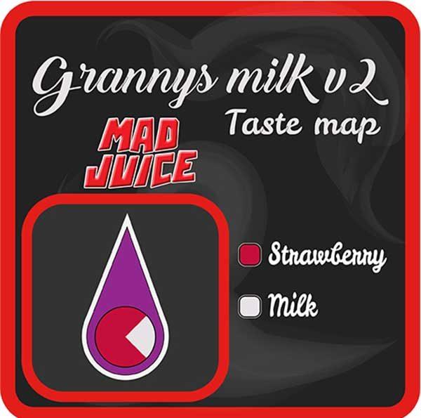 Mad Juice – Granny's Milk V2 (3x10ml)