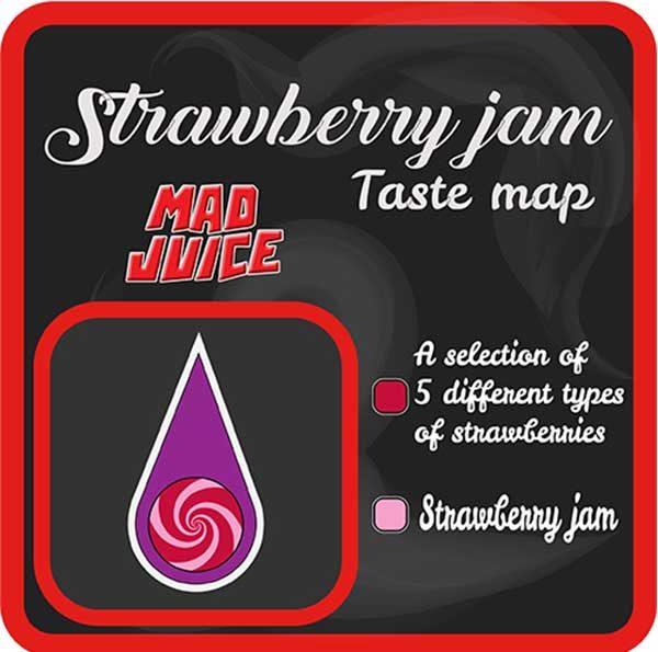 Mad Juice – Strawberry Jam (3x10ml)